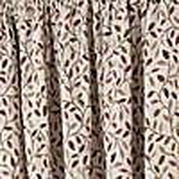 Heritage Glava Damson Pencil Pleat Curtains  undefined
