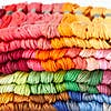 Pack of 100 Embroidery Skeins MultiColoured