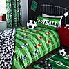 Football 25cm Fitted Sheet Green undefined