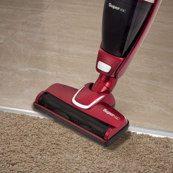 MR 732005 Supervac 2 in 1 Cordless Vac Red