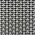 Orla Kiely Oval Flower Cool Grey Cotton Fabric  Grey