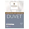 Dorma Sumptuous Down Like 4.5 Tog Duvet  undefined
