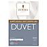 Dorma Sumptuous Down Like 4.5 Tog Duvet White undefined