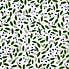 Green Floral PVC