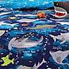 Sharks Reversible Duvet Cover and Pillowcase Set Blue undefined