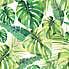 Tropical Leaf Shower Curtain Green