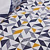 Elements Jaxson Reversible Navy Duvet Cover and Pillowcase Set Blue undefined