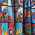 Disney Marvel Comics Blackout Pencil Pleat Curtains Multi Coloured undefined