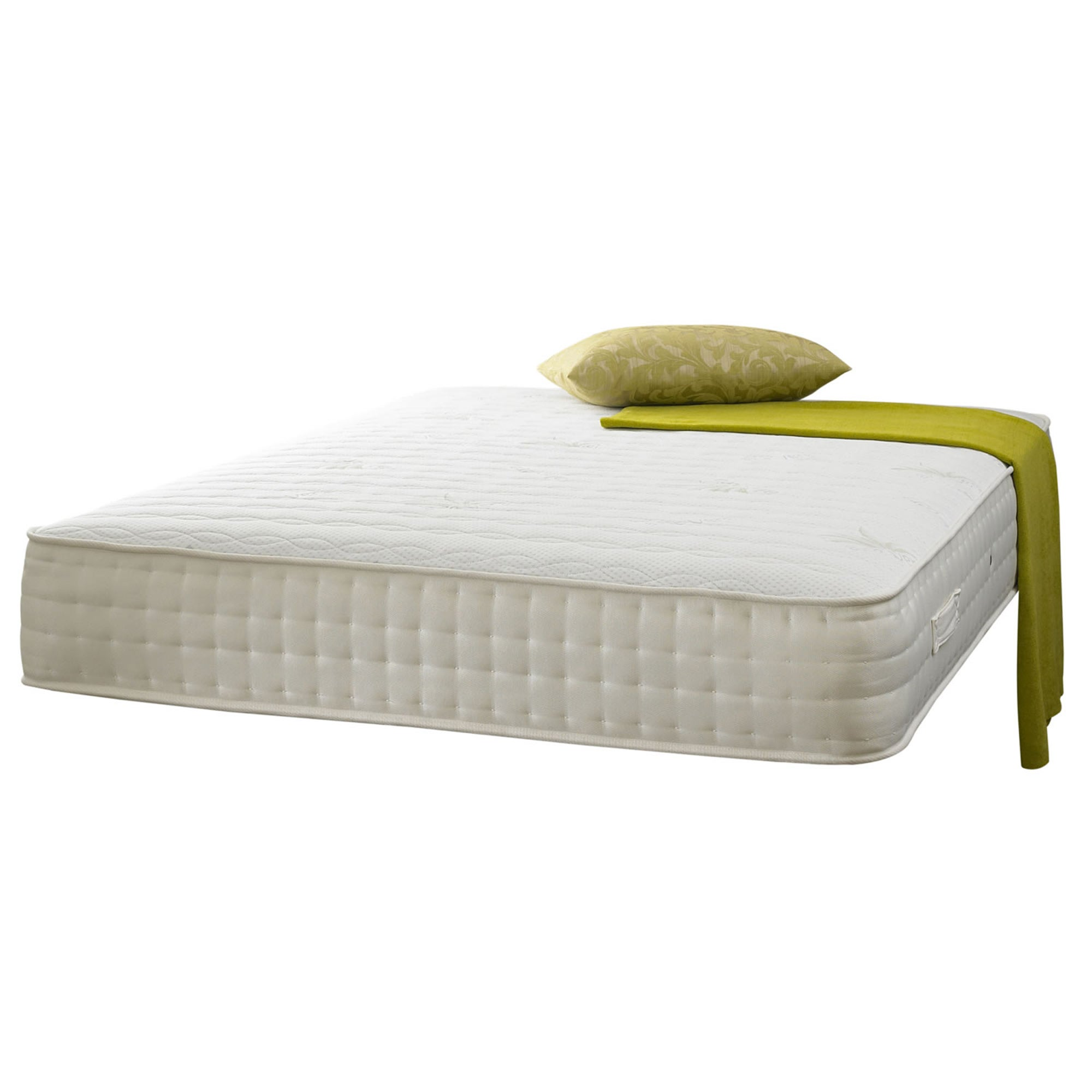 Click to view product details and reviews for Active Shire Aloe Vera 1000 Pocket Memory Mattress White.