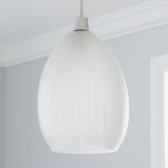 Buy Easy Fit Crackle Glass Pendant from