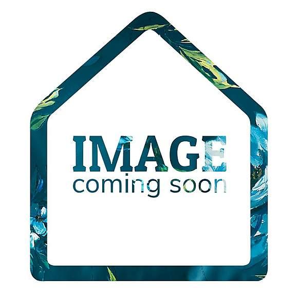 Natalia Aqua Floral Slot Top Single Voile Panel  undefined