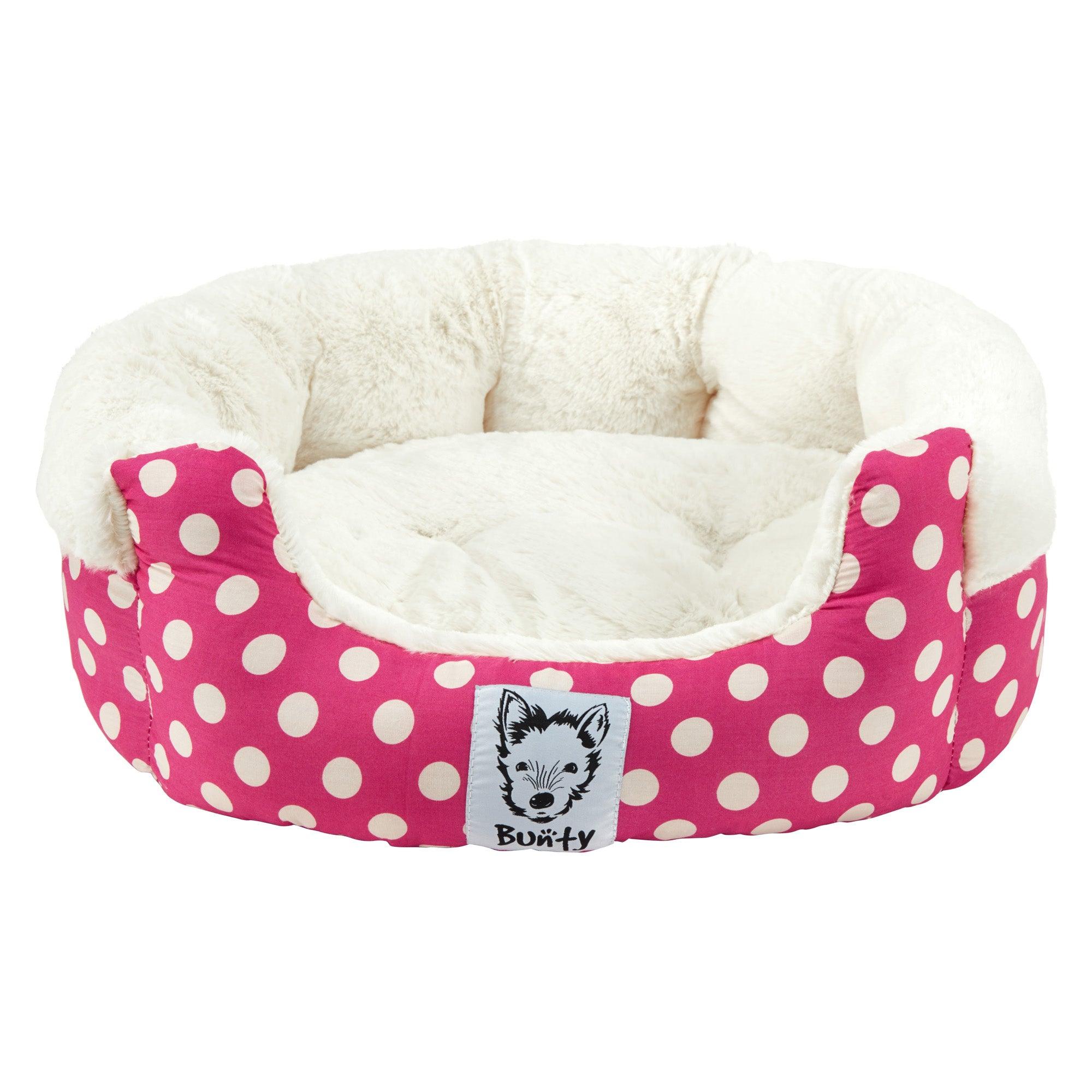 Bunty Pink Deep Dream Dog Bed Pink
