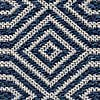 Pappel Geometric Rug Pappel Blue undefined