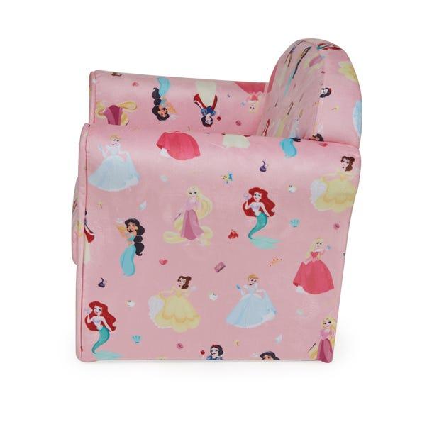 Kids Pink Disney Princess Armchair | Dunelm