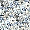 NuWallpaper Dream On Navy Self Adhesive Wallpaper