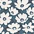 Mia Navy Floral Wallpaper Navy
