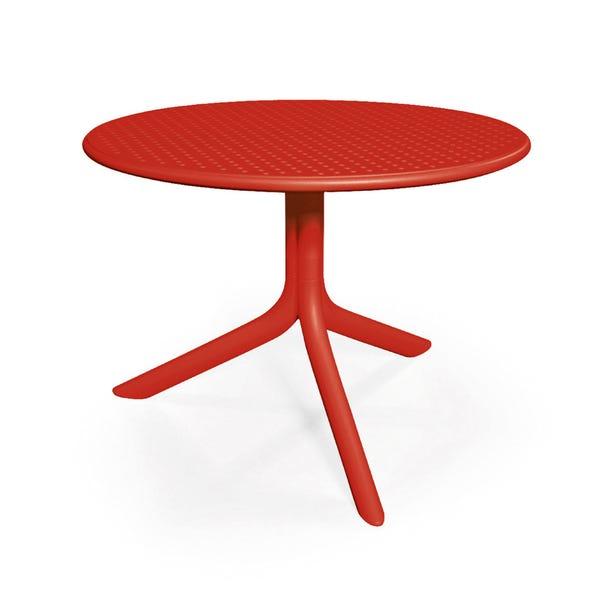 Red Garden Table | Dunelm