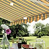 Easy Fit Multi Coloured Awning MultiColoured undefined
