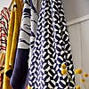 Joules Honeycomb Geometric 100% Cotton Towel  undefined