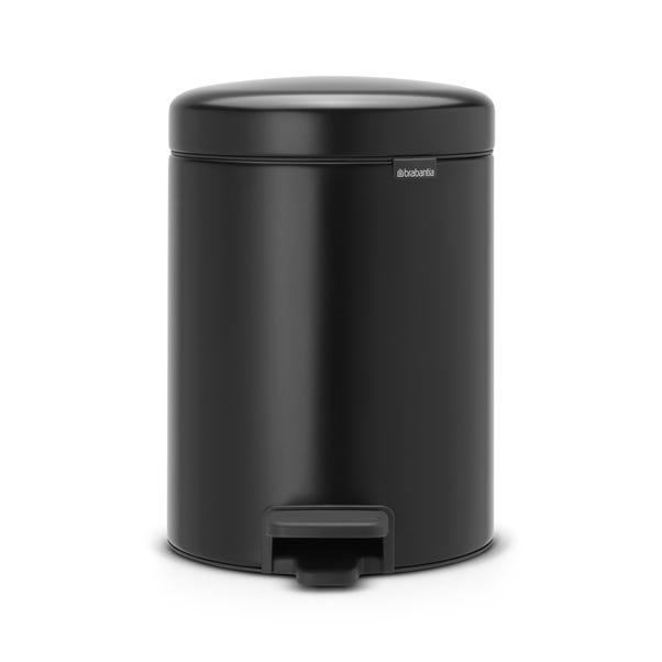 Brabantia Matt Black 4L Recycle Bin