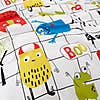Cosatto Monster Mob 100% Cotton Duvet Cover and Pillowcase Set  undefined