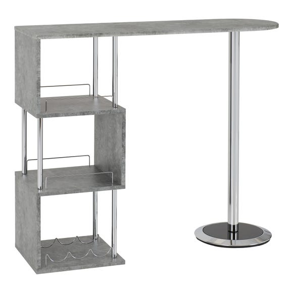 Charisma Bar Table Concrete Effect