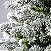 6Ft Deluxe Flocked and Glittered Tree Green