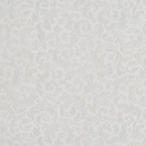 White Embossed Vine PVC