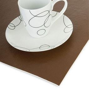Brown Executive Felt Table Protector