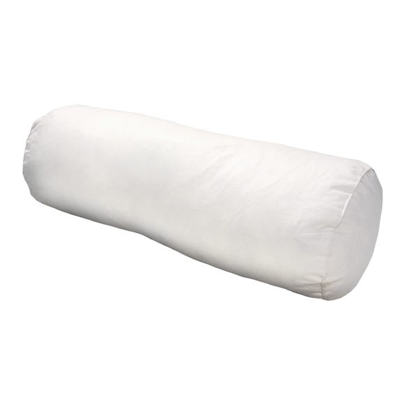 Duck Feather Bolster Cushion Pad Cream undefined