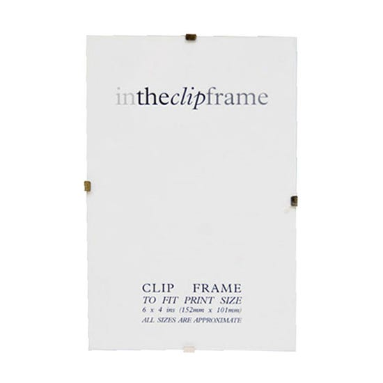 "Easy Clip Photo Frame 24"" x 31"" (60cm x 80cm) Clear"