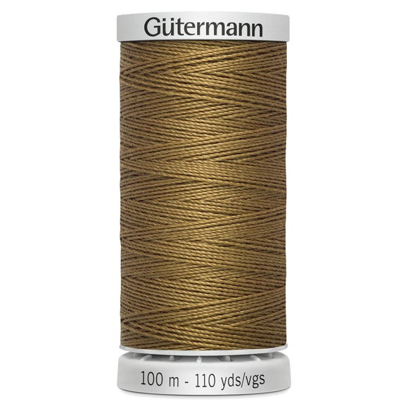 Gutermann Extra Thread 100m Goldstone (887) Fawn (Yellow) undefined