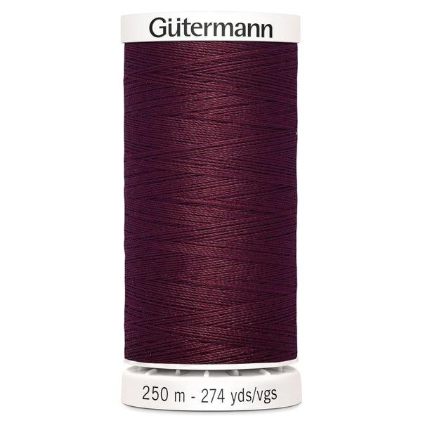 Gutermann Sew All Thread Burgundy (369)  undefined