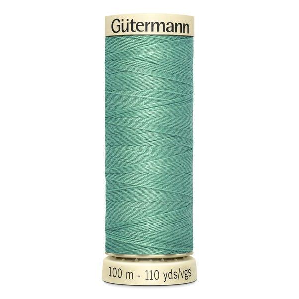 Gutermann 100m Sew All Cotton Thread Pale Jade (100)