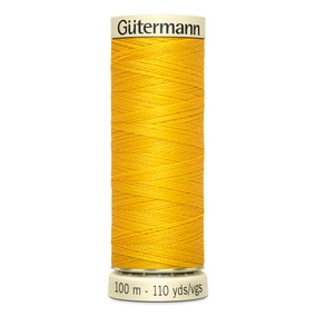 Gutermann Sew All Thread Bright Yellow (106)
