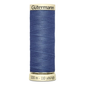 Gutermann Sew All Thread Soft Denim Blue (112)