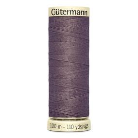 Gutermann 100m Sew All Cotton Thread Dusky Lilac (127)
