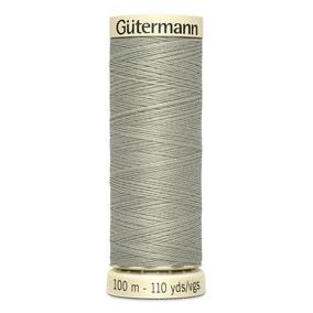 Gutermann 100m Sew All Cotton Thread Ash Sage (132)