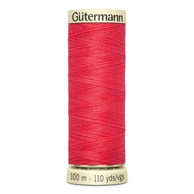 Gutermann 100m Sew All Cotton Thread Red (16)