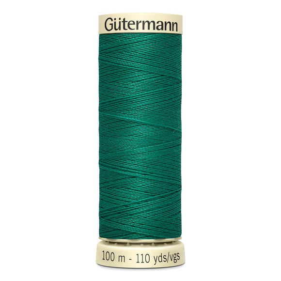 Gutermann 100m Sew All Cotton Thread Emerald Green (167)