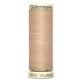 Gutermann Sew All Thread Light Fawn (170)