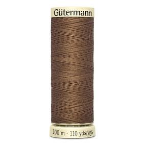 Gutermann 100m Sew All Cotton Thread Coffee Brown (180)