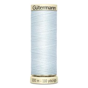 Gutermann 100m Sew All Cotton Thread Light Baby Blue (193)