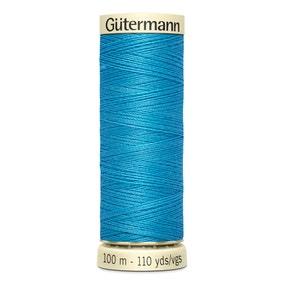 Gutermann 100m Sew All Cotton Thread Pacific Blue (197)