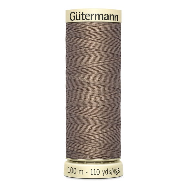 Gutermann 100m Sew All Cotton Thread Dusky Fawn (199)