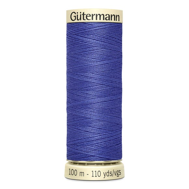 Gutermann 100m Sew All Cotton Thread Purple (203)