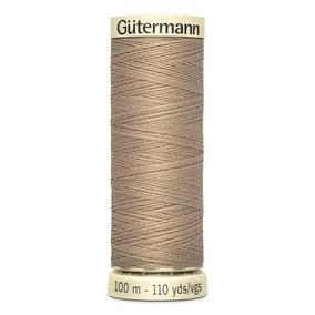 Gutermann Sew All Cotton Thread Ash Beige (215)
