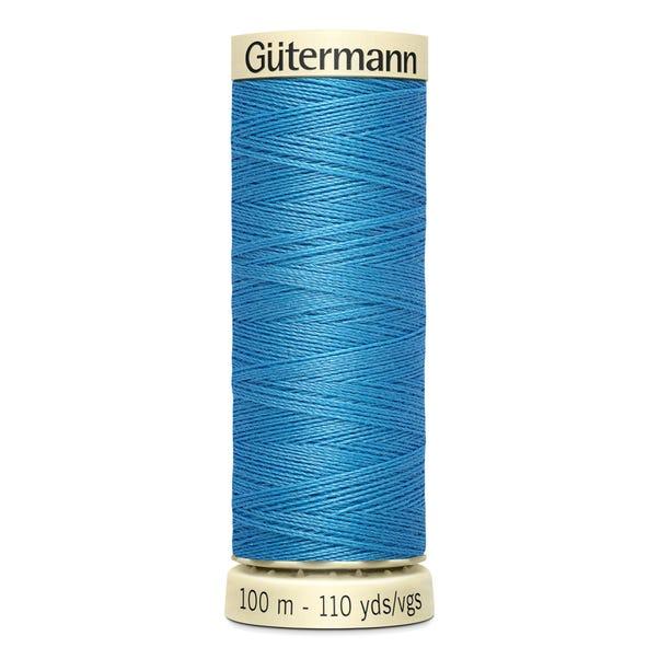 Gutermann Sew All Thread 100m Frosty Blue (278) Blue undefined