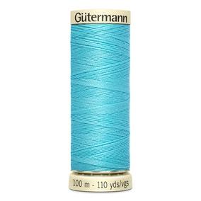 Gutermann 100m Sew All Cotton Thread Yale Blue (28)