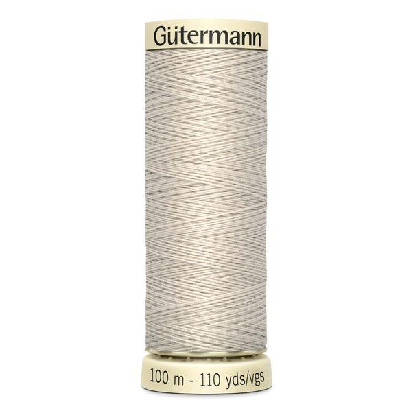 Gutermann Sew All Thread Fawn (299)  undefined